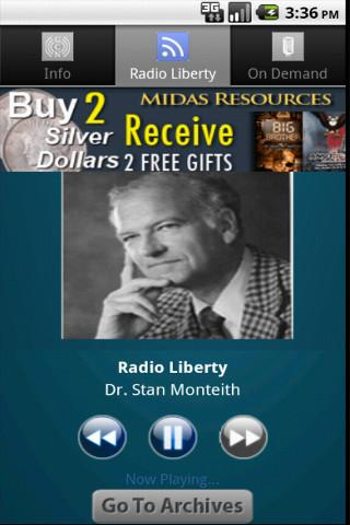 Radio Liberty - screenshot