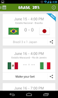 Screenshot of Confederations Cup Brazil 2013