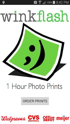 Winkflash 1 Hour Photo Prints