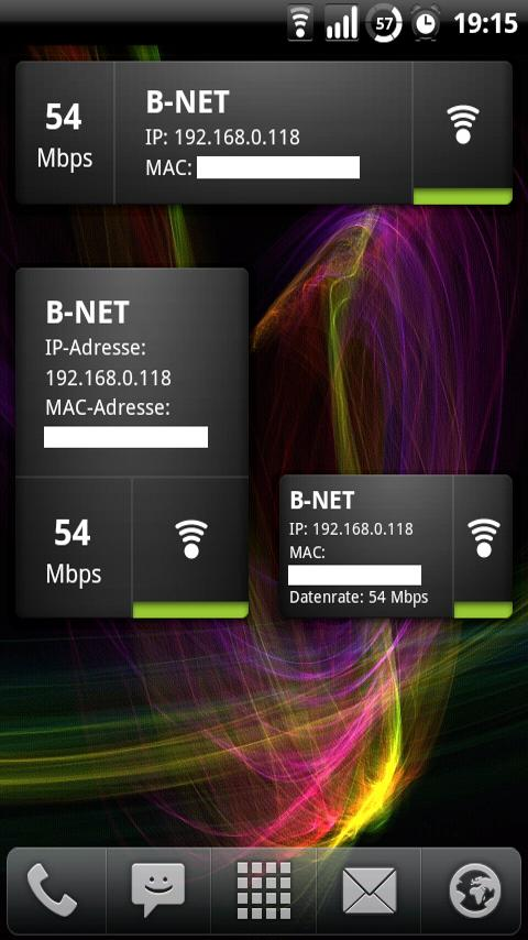 Wifi Widget - screenshot