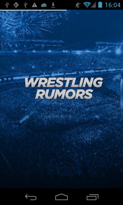 Wrestling Rumors- screenshot