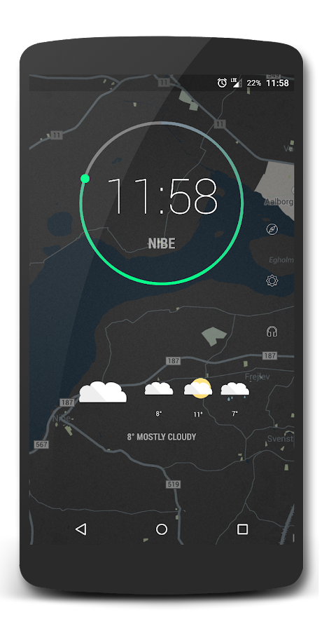 Flatt Weather for Kustom- screenshot