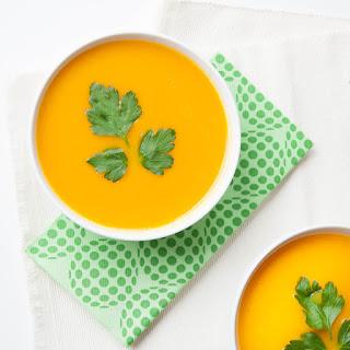 Easy Ginger Carrot Soup