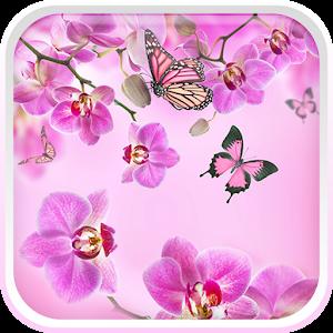 Ροζ λουλούδια Φοντο Κινητου APK