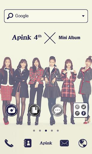 Apink B Dodol Launcher Theme