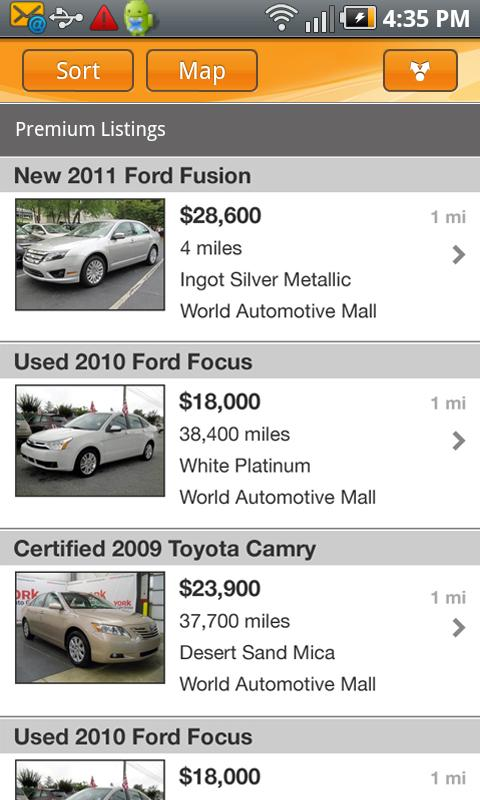 AutoTrader.com - screenshot