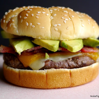 Bacon-Avocado Cheeseburger