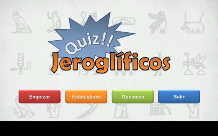 Quiz!! Jeroglificos - screenshot