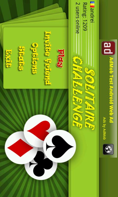 Solitaire Challenge (Online)- screenshot
