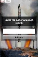 Screenshot of Nuclear War. Simulator.