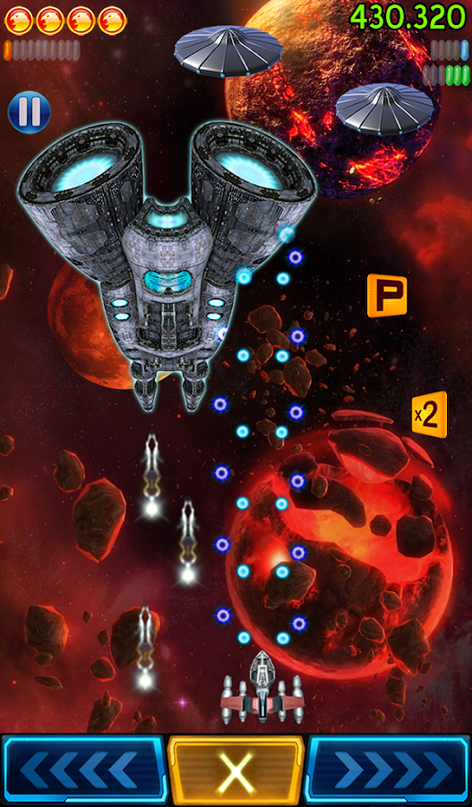Space Falcon Reloaded- screenshot