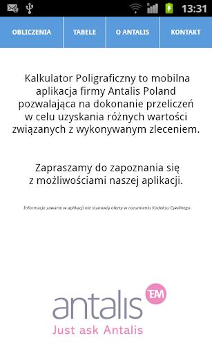 Kalkulator Poligraficzny
