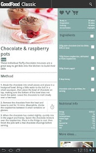 BBC Good Food - Recipes - screenshot thumbnail