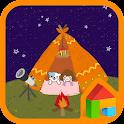 mory&coco camping dodol theme icon