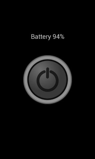Flashlight Battery display