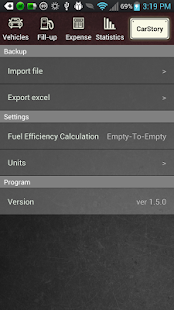 CarStory - Car Management,Fuel - screenshot thumbnail