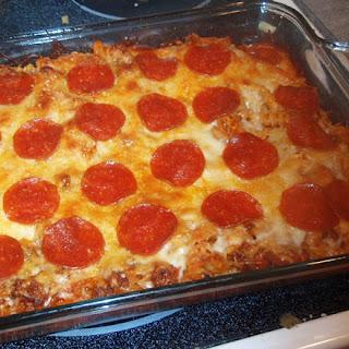 Weight Watcher Recipes – Pizza Pasta Casserole.