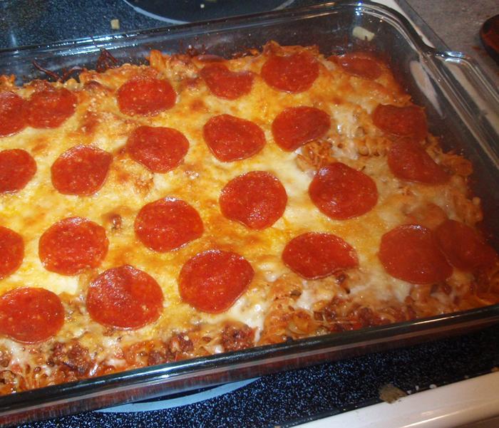 Weight Watcher Recipes – Pizza Pasta Casserole Recipe