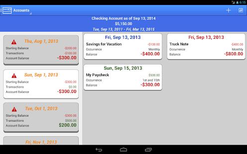 Checkbook App Pro