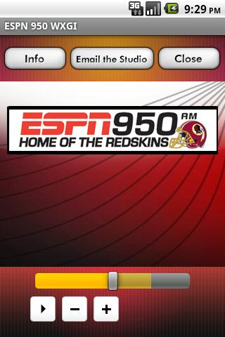 ESPN 950 WXGI - screenshot