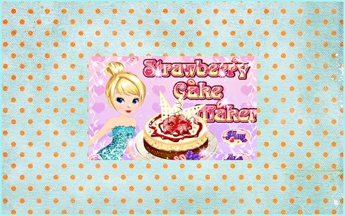Strawberry Cake Maker
