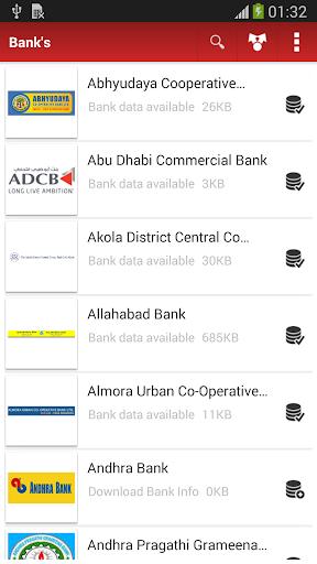 All India Bank Info Offline