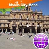 Salamanca Street Map