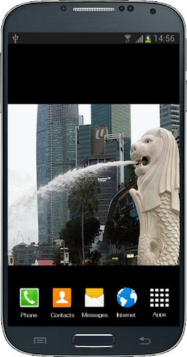 Merlion Live Wallpaper HD