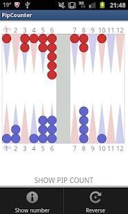 Pip Counter for Backgammon- screenshot thumbnail