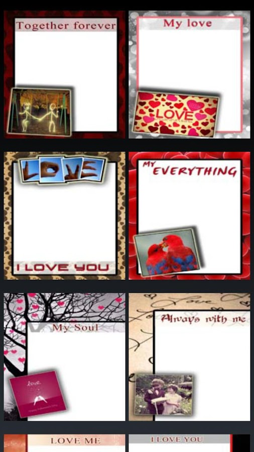 Valentine's Day cards - screenshot