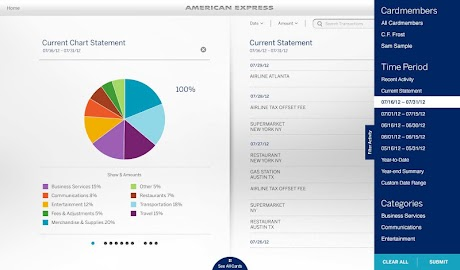 Amex for Tablet Screenshot 3