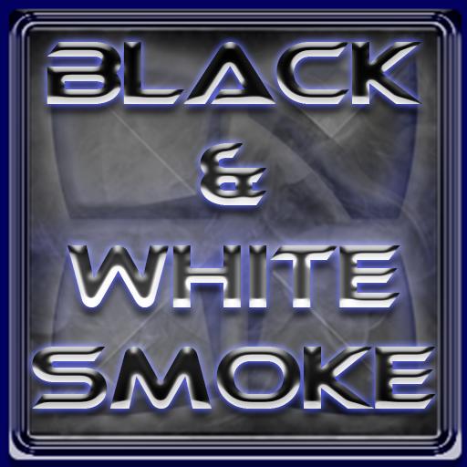 Next Launcher Theme BnW Smoke