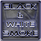 Next Launcher Theme BnW Smoke icon
