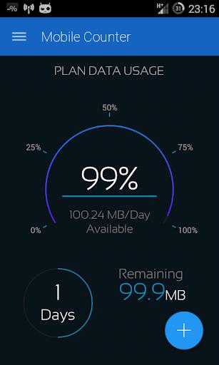 Mobile Counter 2 Data usage