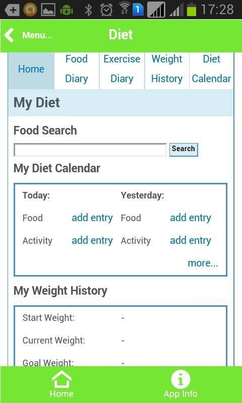 Health Information - screenshot