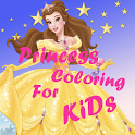 Hay Princess Day Coloring icon