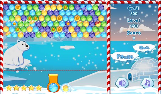 Winter Bubble Free- screenshot thumbnail