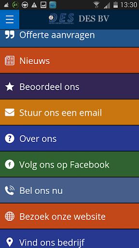 DES BV Mobile App