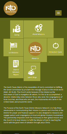 NTD AG Missions Network