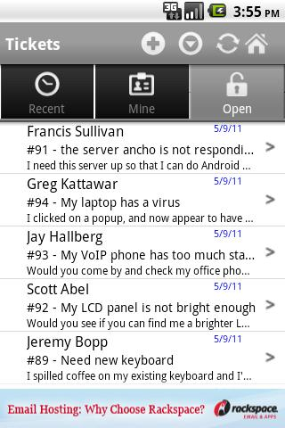 Spiceworks Mobile - screenshot