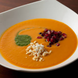 Spicy Pumpkin Soup.