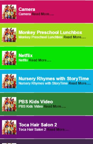 Free Entertaining Kids App