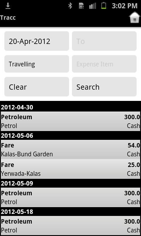 Tracc Personal Finance Manager - screenshot