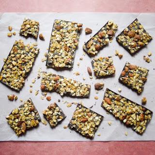 Cinnamon Granola Chocolate Bars