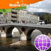 Sarajevo Street Map