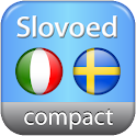 Italian <-> Swedish dictionary logo