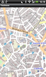Toulouse Street Map- screenshot thumbnail
