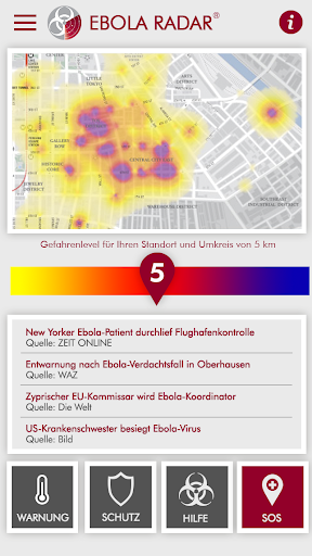 【免費醫療App】Ebola Radar 0.2 Donate-APP點子