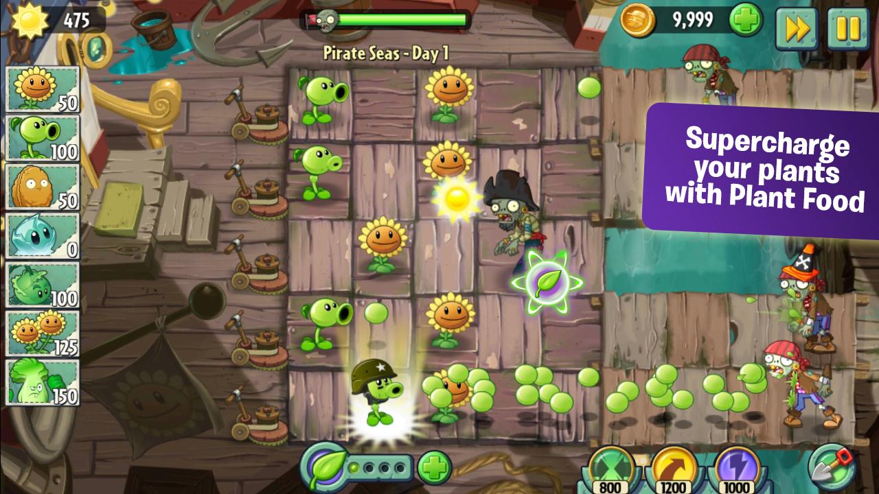 Plants vs. Zombies™ 2 - screenshot