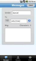 Screenshot of SMS Cuba